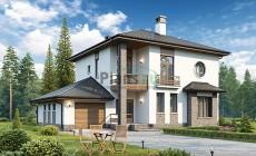 Проект бетонного дома 56-83
