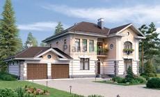 Проект бетонного дома 56-85