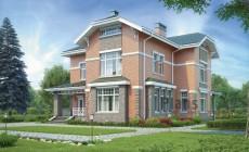 Проект бетонного дома 56-89