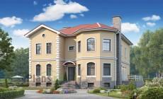 Проект бетонного дома 56-97