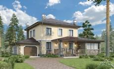 Проект бетонного дома 57-03