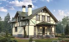 Проект бетонного дома 57-12