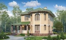 Проект бетонного дома 57-13