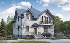 Проект бетонного дома 57-14