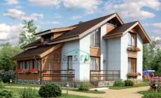 Проект бетонного дома 57-16