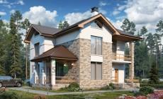 Проект бетонного дома 57-25