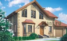 Проект бетонного дома 57-26