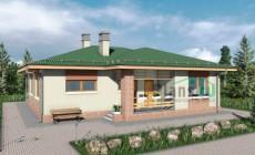 Проект бетонного дома 57-27