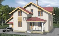 Проект бетонного дома 57-28