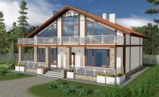 Проект бетонного дома 57-29