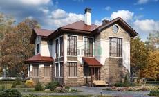Проект бетонного дома 57-35