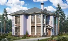 Проект бетонного дома 57-36