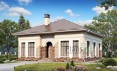 Проект бетонного дома 57-39