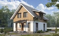 Проект бетонного дома 57-42