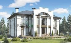Проект бетонного дома 57-45