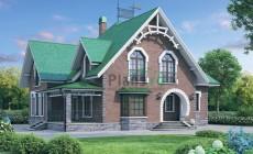Проект бетонного дома 57-46