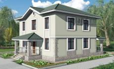 Проект бетонного дома 57-48