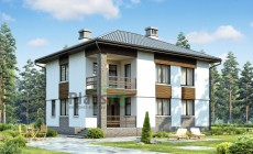 Проект бетонного дома 57-51