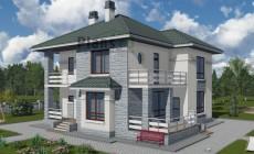 Проект бетонного дома 57-52