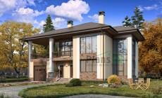 Проект бетонного дома 57-60