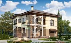 Проект бетонного дома 57-63