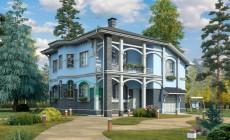 Проект бетонного дома 57-64