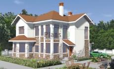 Проект бетонного дома 57-70