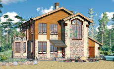 Проект бетонного дома 57-71