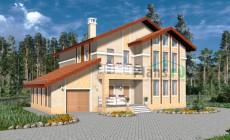 Проект бетонного дома 57-72