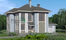 Проект бетонного дома 57-73