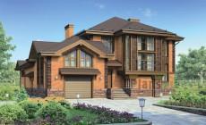 Проект бетонного дома 57-78