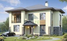 Проект бетонного дома 57-79