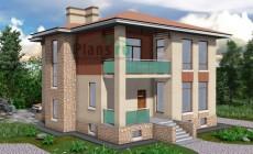 Проект бетонного дома 57-82