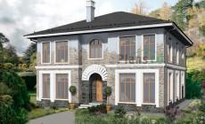 Проект бетонного дома 57-89