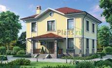 Проект бетонного дома 57-94