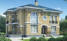 Проект бетонного дома 57-96