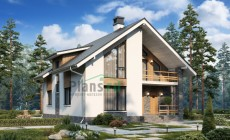 Проект бетонного дома 57-99