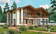Проект бетонного дома 58-04