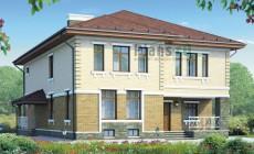 Проект бетонного дома 58-05