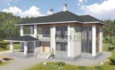 Проект бетонного дома 58-09