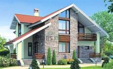 Проект бетонного дома 58-10
