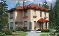 Проект бетонного дома 58-17
