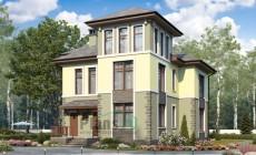 Проект бетонного дома 58-22