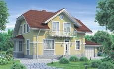 Проект бетонного дома 58-23