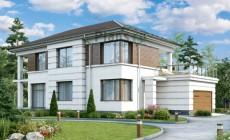 Проект бетонного дома 58-25