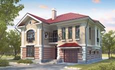 Проект бетонного дома 58-30