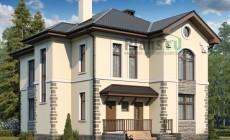 Проект бетонного дома 58-31