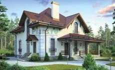 Проект бетонного дома 58-37