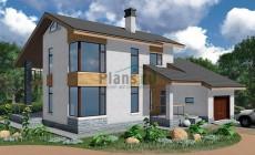 Проект бетонного дома 58-41