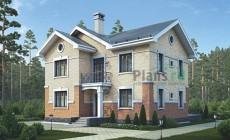 Проект бетонного дома 58-44